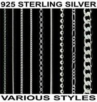 Sterling Silver 925 Italian Anklet Bracelet Choker Necklace Body Chain Jewellery