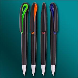 Kugelschreiber Swan Black mit Ihrer Werbung / Logo / Druck 4-farbig Fotodruck