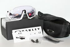 Oakley Flight Jacket Sunglasses OO9401-0337 Carbon Frame W/ PRIZM Low Light Lens