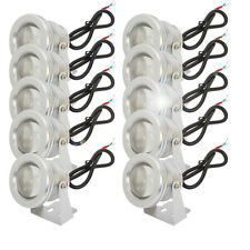 10PCS 12V 10W LED Outdoor Garden Spot Light 1000LM White Landscape Pond Light