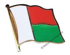 PIN's drapeau MADAGASCAR malgache badge 2x2cm doré