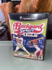 Backyard Sports: Baseball 2007 (Nintendo GameCube, 2007)Complete, Tested!! Mint