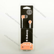 Skullcandy JIB In-Ear Earbuds Headphones Headset w/Mic S2DUYK-L674 Sunset Orange