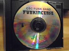 RARE PROMO CSC Funk Band CD Funkincense 2013 gwar USA Is A Monster Talibam! 8trx