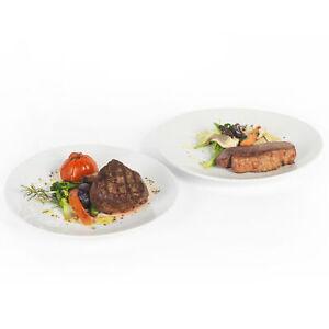 Kuhn Rikon VK1000 Set of 2 Steak Dinner Plates 30cm, Large Dining/Serving Plates