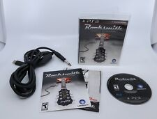 Rocksmith Playstation 3 PS3 Game Bundle w/ Ubisoft Real Tone Guitar Cable TESTED