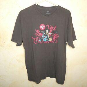 Walking Dead Daryl Dixon Zombie Tee Fury T-Shirt Size Large