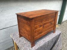 solid wood pine toy box / storage box TC130618G