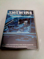 "DVD ""THE WIRE 3 TERCERA TEMPORADA COMPLETA"" DAVID SIMON"