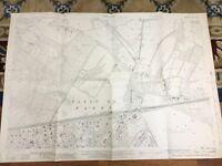 Old Map Fleet Hampshire North Hants Golf Club Chestnut Copse 1939