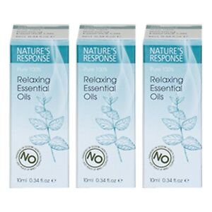 Nature's Response Relaxing Essential Oils 10ml Multipack (x3) | 100% Pure