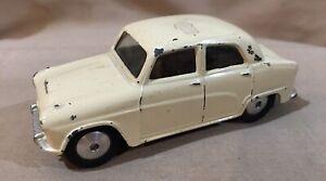 Vintage Corgi Toys 201 Austin Cambridge Friction Off White Car Great Britain