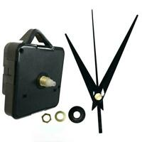 DIY Repair Parts Spindle + Long Hands Quartz Wall Clock Movement Mechanism S6J6