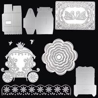 Metal Cutting Dies Stencil Scrapbook Paper Cards Embossing Craft DIY Die-Cutter