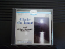 CLAIR DE LUNE AND OTHER MOONLIT MELODIES CD Like New 1984 ALLEGRETTO