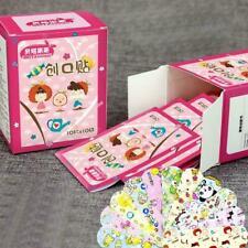 100pcs Kids Adult Cute Pattern Bandages Standard Cartoon Design H4M0 Plaste J2M9