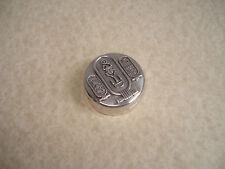 BOITE à PILULES en ARGENT Décor  Scarabée  - Silver Pill Box