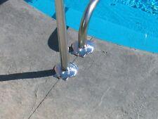 "New pool escutcheons, two ""Seashells"" for in-ground swimming pool rails"