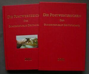 Jahrbuch 2001 im Schuber - mit postfrischen Briefmarken des Jahrgangs, kompl. **