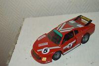 VOITURE FERRARI 308 GTB 4 TURBO POLISTIL 1/24 CAR DIE CAST COURSE MANS  N° 5
