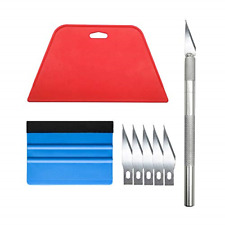 Wallpaper Smoothing Tool Kit for Adhesive Contact Paper Application Window Film