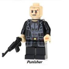 The Punisher - Jon Bernthal - Nuovo in Blister - Moc Custom Minifigures LEGO