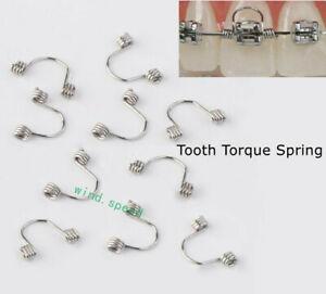 10pcs Dental Orthodontic Torquing Torque Rectangular Spring Anterior Teeth Wire