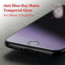 3D Anti Blue-Ray Matte Tempered Glass Full Screen Protector for iPhone 7/6S Plus
