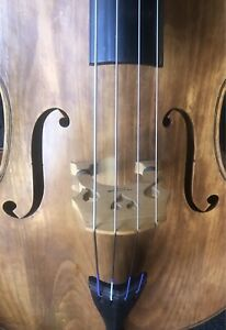 Double Bass 3/4 size solid wood