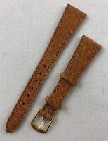 Kreisler Genuine Pigskin 16mm Light Brown Tan Ladies Leather Watch Band W97