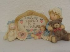 "Heart Tugs! ""A Friend Is A Treasure"" #73721 Fig. From San Francisco Music Bo"