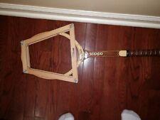 "New 1970's Adidas Nastase Master Tennis Wooden Racquet M 4 1/2"" adds055"
