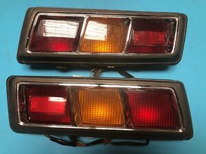 Subaru GSR 1400 Leone Coupe 1971-1974 Rear Tail Light Lamp Set Assembly NOS