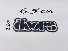 Quality Iron/Sew on The Doors biker patch concert logo Jim morrison