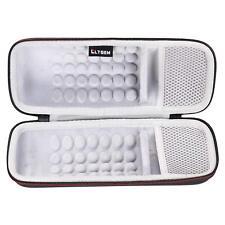 LTGEM Case for SoundLink Revolve Bluetooth Speaker with Mesh Pocket-Black