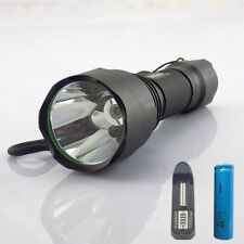 XPE Q5 LED Torch light 1600lumens Flashlight linternas +18650 battery AC charger