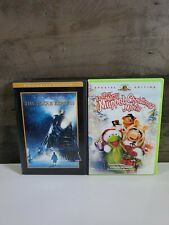POLAR EXPRESS AND IT'S A VERY MERRY MUPPET CHRISTMAS MOVIE DVD LOT