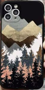 Outdoors Woods Forest Art Cute iPhone 12/11/XR/XS/X/8/7 Phone Case Cover
