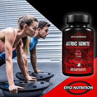 NITRIC IGNITE NO2 Booster – L-Arginine Pre-Workout, Nitric Oxide Supplements