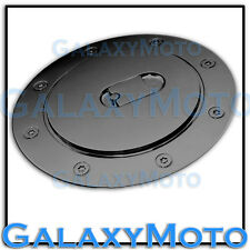 07-13 Chevy Suburban+Tahoe+Avalanche Black Chrome ABS Fuel Gas Cap Door Cover