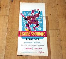 IL GRANDE SEDUTTORE locandina poster Don Juan Fernandel Carmen Sevilla AD73