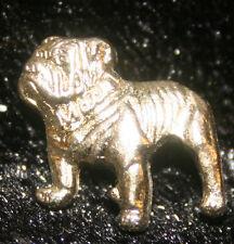Mack Gold Bulldog hat pin lapel emblem decal bull dog tag badge truck ball cap