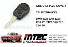 K68 Gusio chiave cover per telecomando BMW E36 E46 E38 E39 Z3 TDS 520 728 750 3B
