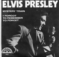 ELVIS PRESLEY - MYSTERY TRAIN - NEW SUN LABEL REPRO IN PICTURE COVER