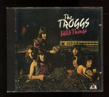 THE TROGGS   WILD THINGS...PLUS     Compilation      SEE FOR MILES RECORDS, 1989