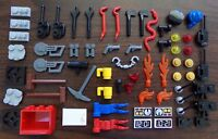 LEGO Accessories Lot for Minifigures (Great for 60200 10764 60202 60161 60141 )