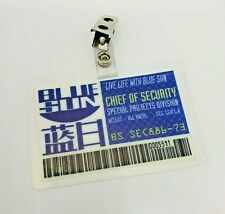 Serenity/Firefly Id Badge-Blue Sun Chief Of Security cosplay costume prop
