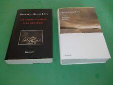 Bernard-Henri Lévy - Américan Vertigo + Ce grand cadavre à la renverse - Grasset