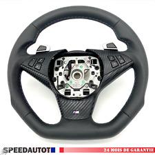 Volant en cuir Aplati BMW 5 E60, E61, E63 , E64 LCI Smg Echange standard-
