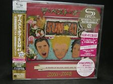 SUM 41 8 Years Of Blood, Sake And Tears: The Best Of 2000-2008 JAPAN SHM CD+DVD